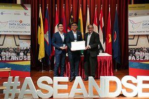 SV Việt Nam giành giải ba 'Khám phá khoa học số ASEAN'