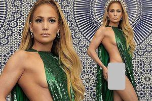 Jennifer Lopez hở táo bạo nóng bỏng dù sắp 50 tuổi