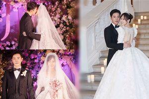 Lễ cưới lung linh ở trời Tây của người đẹp phim 'Bên nhau trọn đời'