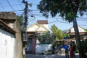 Bắc thang trèo sửa loa phường, Bí thư chi bộ bị điện giật ngã tử vong