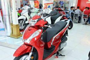Bảng giá xe máy Honda cập nhật mới nhất: SH Mode chênh 12 triệu đồng