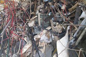 Vừa thành lập đã nhập hàng chục container rác phế liệu về Việt Nam