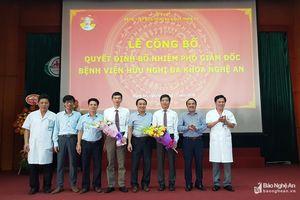 Bệnh viện HNĐK Nghệ An có 2 Phó giám đốc mới