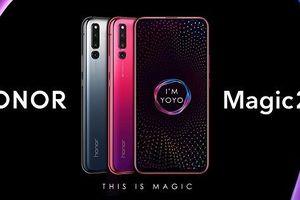 Honor Magic 2 ra mắt: màn hình trượt, 6 camera, cảm biến vân tay dưới màn hình