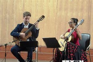 Nhiều nghệ sỹ nổi tiếng biểu diễn tại Liên hoan Guitar quốc tế Sài Gòn