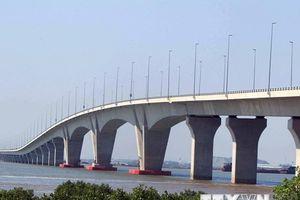 Cận cảnh cầu vượt biển dài nhất Việt Nam tại Hải Phòng