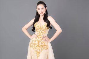 Ngắm sắc vóc 'chuẩn' của Thùy Tiên tại Miss International 2018