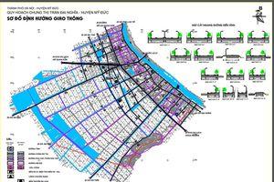 Hà Nội thi tuyển ý tưởng Quy hoạch chi tiết tỷ lệ 1/500 Khu trung tâm thị trấn Đại Nghĩa