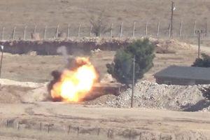 SDF phóng tên lửa diệt một xe cơ giới quân Thổ Nhĩ Kỳ tại miền bắc Syria