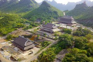 Toàn cảnh ngôi chùa rộng lớn nơi sẽ diễn ra đại lễ Phật đản Vesak 2019