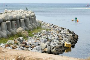 Công trình Đê Hồ Tàu - Đông Hải (Trà Vinh): Nhà thầu bỏ cuộc vì bị làm khó?