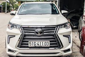 Rộ phong trào 'lên đời' Toyota Fortuner thành Lexus LX570