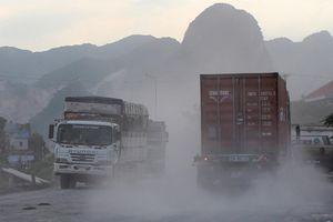 Chở vật liệu xây dựng không che chắn, gây ô nhiễm môi trường có thể bị phạt 3 triệu đồng