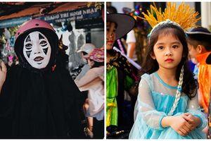 Người Việt 'chơi Halloween': Ma quỷ và thiên thần tràn ngập khắp các con phố