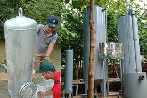 Tạo nguồn nước sạch cho học sinh vùng cao Tuần Giáo, Điện Biên
