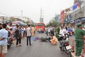 Trượt chân lúc lên xe đi học, nữ sinh lớp 11 bị xe khách cán chết thương tâm