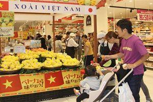 Người Nhật ưa chuộng hàng hóa thực phẩm từ Việt Nam