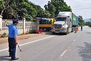 Yên Bái: Giăng lưới phạt nghiêm xe quá tải