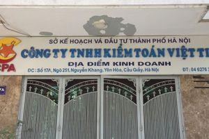 Xử phạt 400 triệu đồng Chủ đầu tư Dự án Xây dựng và Kinh doanh hạ tầng làng nghề Mai Hương