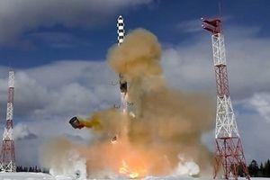 Nga sắp sản xuất hàng loạt siêu tên lửa mạnh nhất thế giới Sarmat