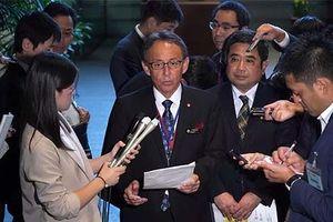Thống đốc Nhật Bản phản đối Mỹ xây căn cứ quân sự mới