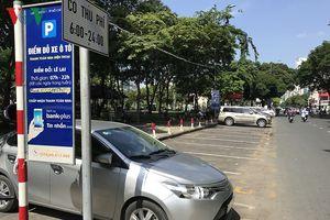 Thu phí đậu đỗ xe dưới lòng đường ở TP HCM chỉ đạt 2% so với kỳ vọng