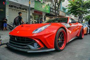 Cận cảnh Ferrari F12 độ bodykit Duke Dynamics tại Việt Nam