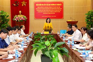 Kiểm tra việc thực hiện 3 nghị quyết quan trọng tại Sở Nội vụ Hà Nội