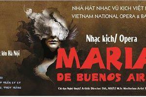 Công diễn vở opera 'Maria đến từ Buenos Aires' tại Nhà hát Lớn Hà Nội