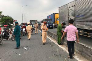 TP. HCM: Cự cãi sau va chạm giao thông, nam thanh niên rút dao đâm rồi tông thẳng xe máy khiến 1 người tử vong