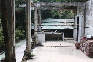 Biệt phủ dưới núi Hải Vân đã tháo dỡ cơ bản phần vi phạm