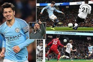 Ngôi sao bị ruồng bỏ tỏa sáng, Man City hạ gục Fulham