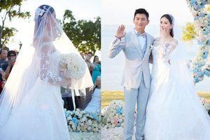 Những bộ váy cưới xa xỉ của dàn sao châu Á