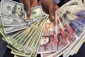 Đồng USD giảm, bảng Anh tiếp tục tăng mạnh phiên thứ 2