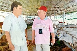 Thăm lão nông sở hữu nhiều đất đai, làm ăn lớn ở An Giang