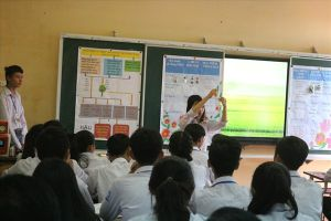 Công đoàn GDĐT tỉnh Thái Bình tổ chức thao giảng chào mừng ngày 20.11