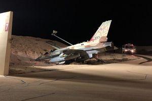 Tiêm kích F-16I Israel gặp nạn khi oanh kích Syria?