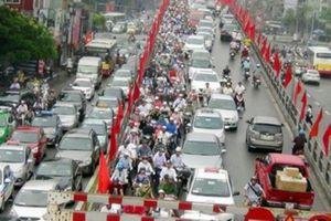 Hà Nội sẽ lập đề án thu phí phương tiện vào nội thành