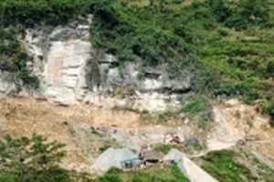 Hà Giang: Ngang nhiên khai thác khoáng sản trái phép