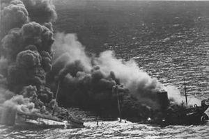 Lạ thái độ của Mỹ khi bị tàu ngầm Đức đánh chìm 'siêu hạm'