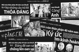 Mỏi mòn thân phận 40 năm oan khuất: Đại biểu Quốc hội chất vấn Viện KSND tối cao