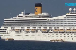 Phú Quốc đón tàu Ý chở hơn 4.000 du khách nước ngoài