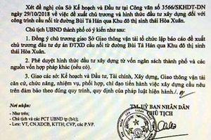 Giả văn bản của Chủ tịch Đà Nẵng để thổi giá đất