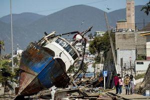 Chile lại tiếp tục rung chuyển vì trận động đất mạnh 6,2 độ
