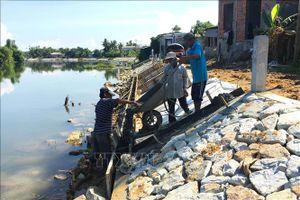 Đầu tư 48,5 tỷ đồng xây kè chống sạt lở bờ sông Tả Trạch và sông Bồ