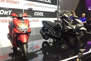 Yamaha FreeGo 125 cc hoàn toàn mới chính thức trình làng, Honda Vision 'lo lắng'