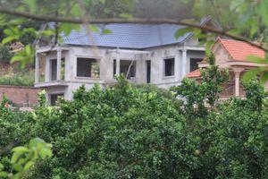 Danh sách 18 công trình xây trên đất rừng Sóc Sơn bị cưỡng chế