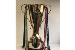 Cúp vàng AFF Suzuki Cup có mặt tại Hà Nội