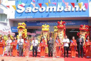 Sacombank khai trương hoạt động chi nhánh Phụng Hiệp