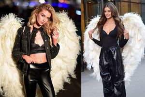 Dàn 'thiên thần' nóng bỏng Victoria's Secret thử nội y với cánh thiên thần tại New York